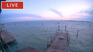 Venice Italy Live Cam - Laguna Nord Venice - Stream from Cantieri Biasin