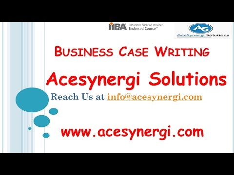 Business Case Writing Live Session | Acesynergi Solutions