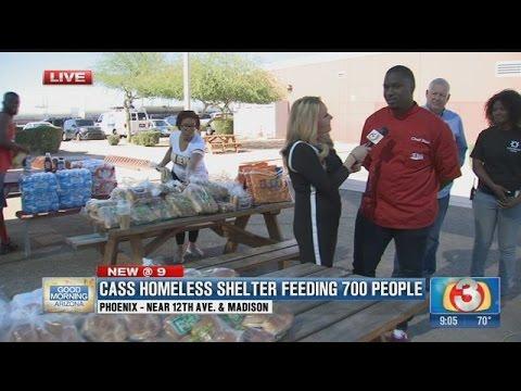 Food Vision feeds hundreds of Arizona's homeless