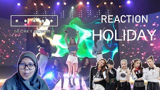 [55] Secret Number (시크릿넘버) - 'Holiday'| REACTION