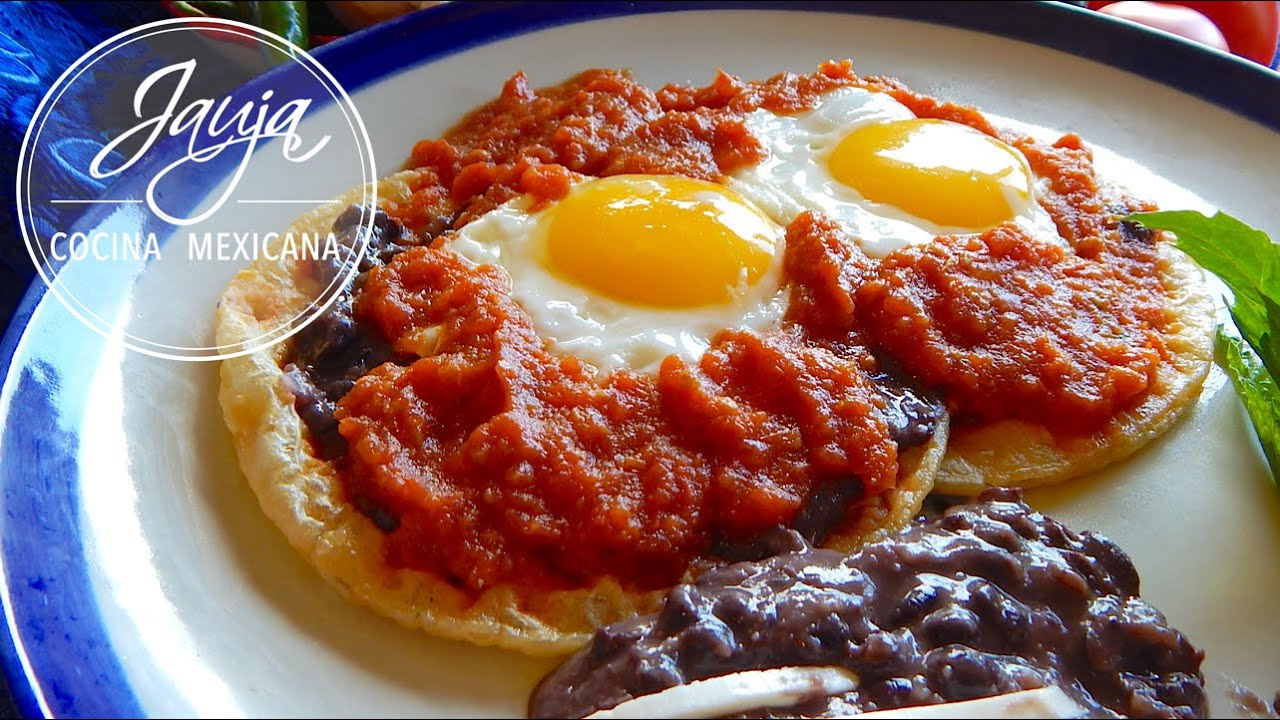 Huevos Rancheros Recipe. Mexican Huevos Rancheros - YouTube