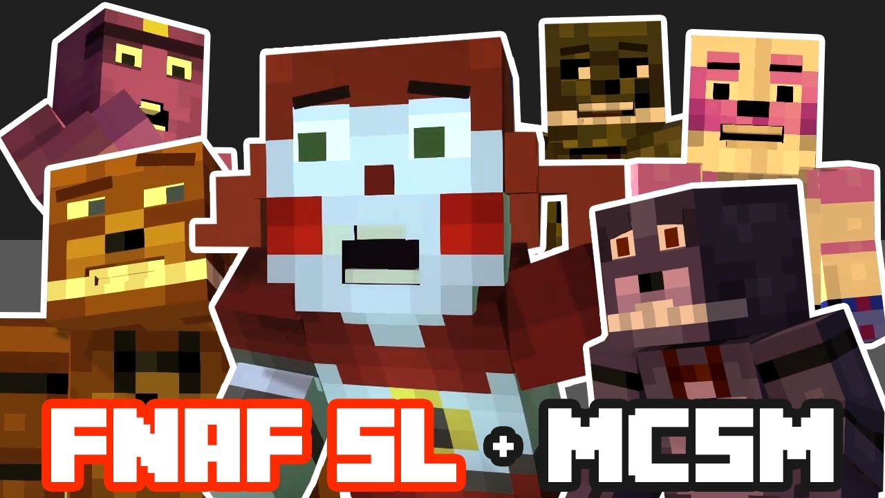 Full Fnaf Sister Location Theme Minecraft Story Mode You