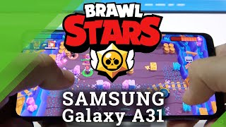 Brawl Stars auf SAMSUNG Galaxy A31 - Android Game Review