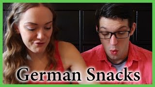 Americans Try German Snacks!