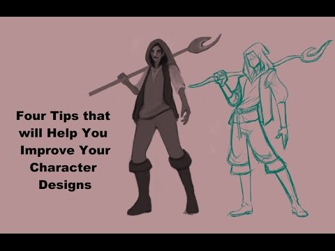 Four Tips that will Help You Improve Your Character Designs