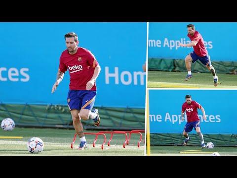 En Barcelona, su casa: así fue el regreso a los entrenamientos de Messi