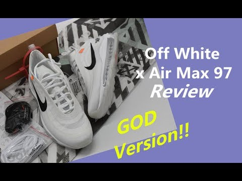 e2045457d6 Real Vs Fake Off White Air Max 97 - YouTube