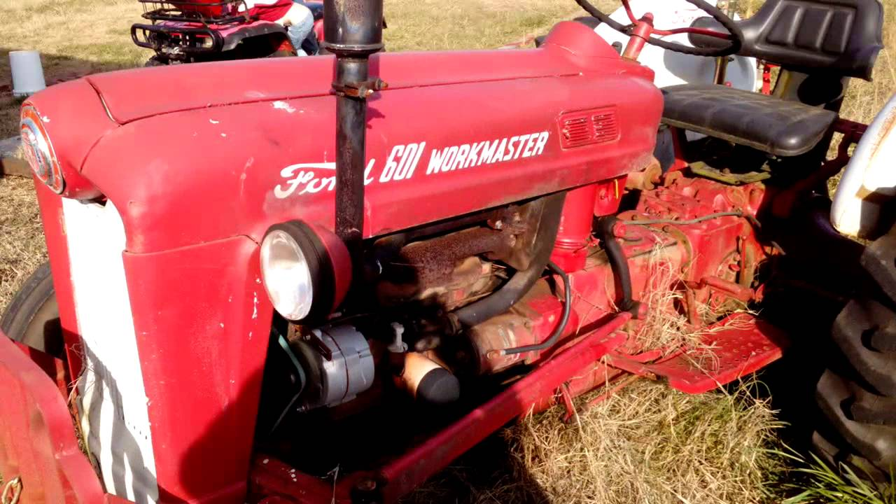 1960 Ford Tractor 601 : Ford workmaster youtube