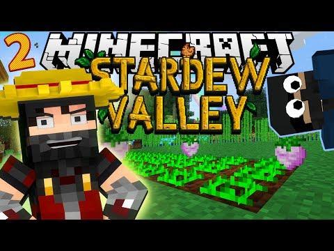 Minecraft: STARDEW VALLEY | #2 ماين كرافت المزرعة السعيدة - لقينا قرية