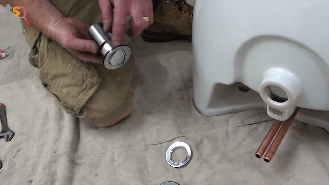 Tommys Trade Secrets  How to Install a Basin  Pedestal