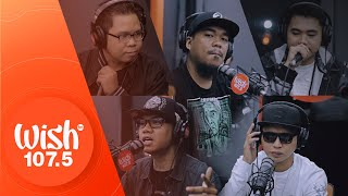 Flict-G, Dello, Curse One, Siobal D & Aikee perform Frontline LIVE on Wish 107.5 Bus