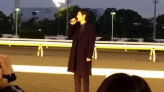 2014東京大賞典表彰式前の、プレゼンター紹介です.
