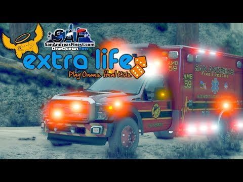 "SA'F | GTA V RP - DON'T SAY ""QUIET!"" with Campbell! - Extra Life 12 Hour Live Stream"