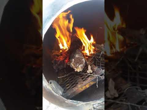Finish build of the wood burner