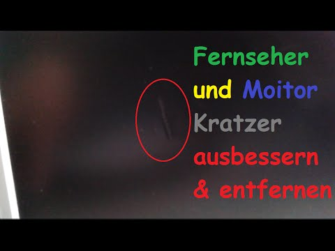 kratzer-aus-led-tv-und-monitor-entfernen-/-display-fernseher-bildschirm-ausbessern-&-reparieren