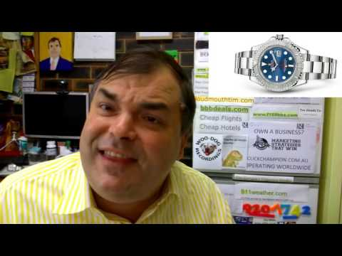PAID WATCH REVIEWS – Rolex YachtMaster 116622 with Blue dial