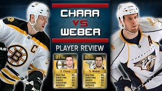 NHL 15 HUT | Player Review: Chara vs Weber