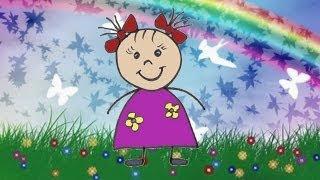видео Видео-уроки рисования для детей от 3 до 6 лет - Учимся рисовать Для детей 3-4 лет Давай нарисуем Бабочку