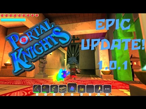 Portal Knights ♠EPIC UPDATE 1.0.1!!! GAME ENDING! New worlds! New items!! New Pets!♥ PC PS4 XBOX 1