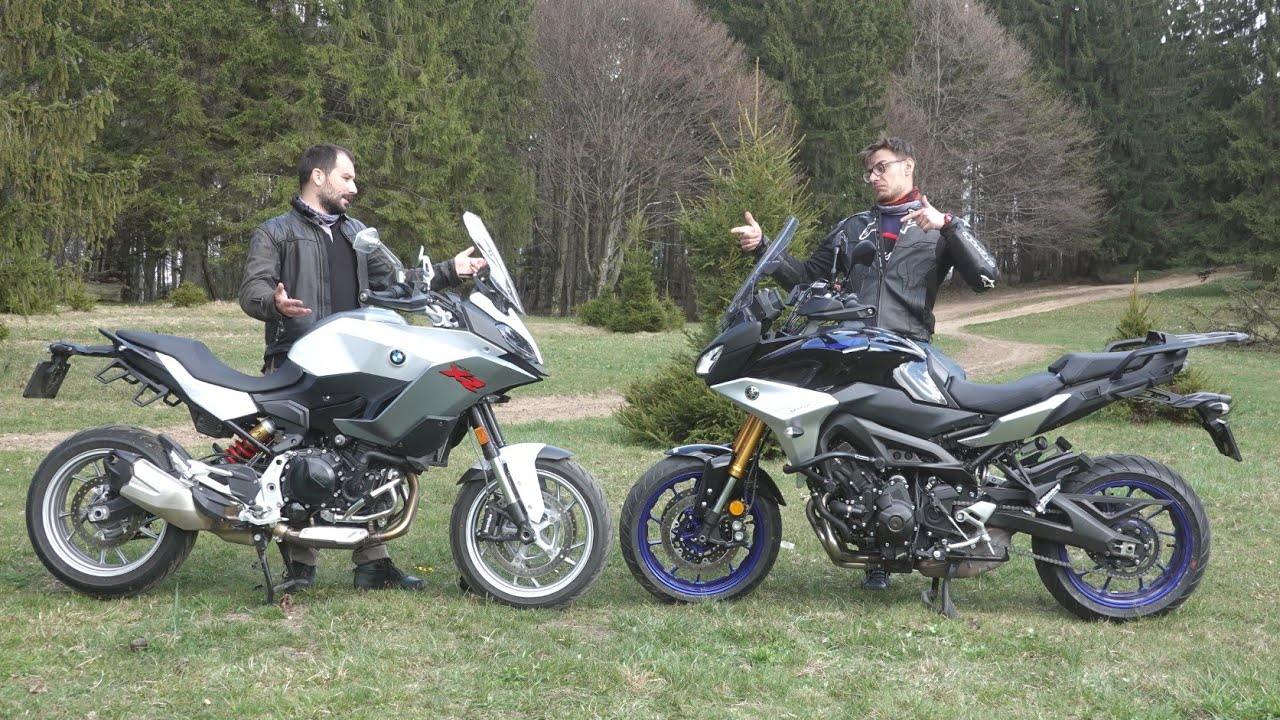 Bmw F900xr Vs Yamaha Tracer Gt Comparison Review Youtube