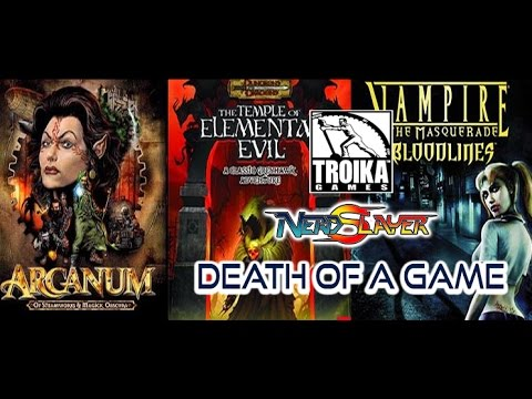 Death Of A Game: Troika Games (Vampire The Masquerade)
