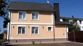 видео Преимущества и недостатки декоративного оштукатуривания фасадов коттеджей