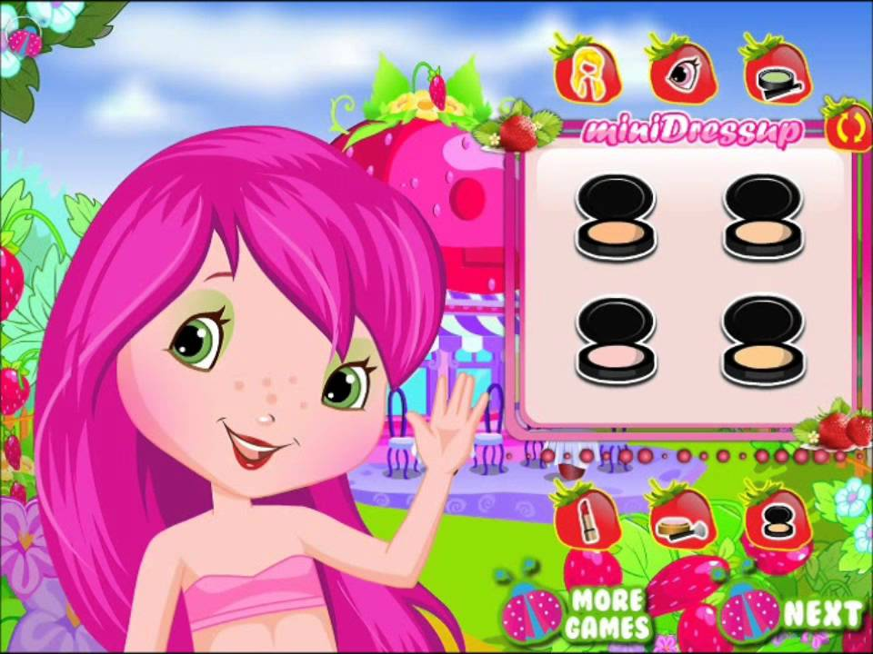 Strawberry Shortcake Dress Up Games for Girls