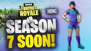 Season 7 Tomorrow! | Random Squad Win | Fortnite | No Commentary