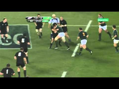 Bakkies Botha vs all Blacks