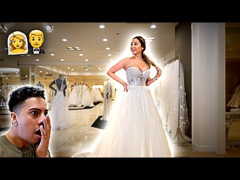 CHOOSING MY WEDDING DRESS!!!