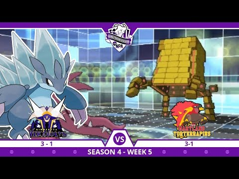 BLIZZARD INCOMING!| Minnesota Vikavolts VS Maryland Torterrapins NPA S4 W5  | Pokemon Ultra S/M