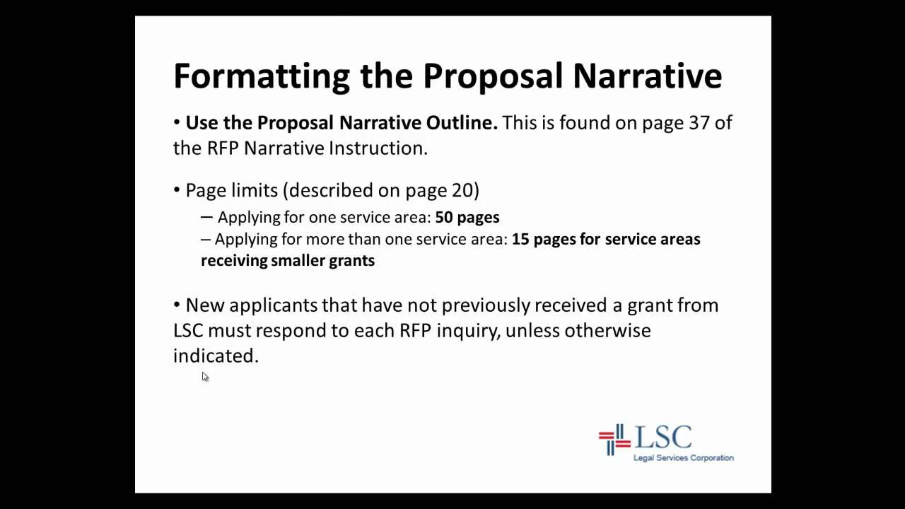 2013 Ais 3 12 Formatting And Writing Proposal Narrative Youtube