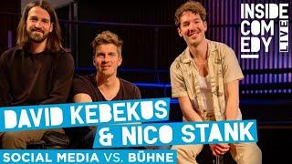 David Kebekus und Nico Stank – Bühne vs. Social Media?