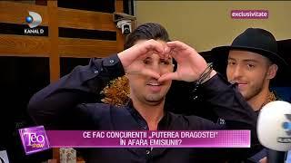 Teo Show (10.01.2019) - EXCLUSIV! Ce fac concurentii Puterea dragostei in afara emisiunii