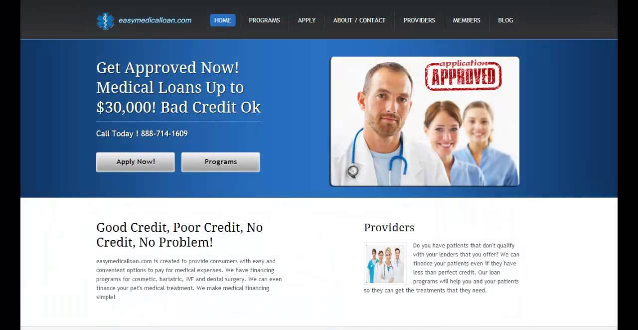 Plastic Surgery Financing - Loans Up to $30,000! Bad Credit - YouTube