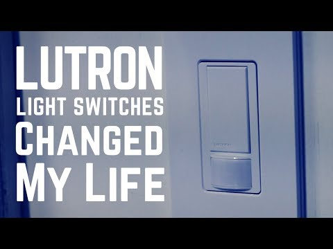 Lutron Maestro Light Switches Changed My life