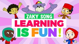 🤩 Learning is FUN! - Zaky Song🎈