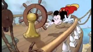 Mickey Mouse Boat Builders (a 1938)