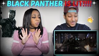 "THIS IS SO LIT!! | Marvel Studios' ""Black Panther"" - Official Trailer REACTION!!!"
