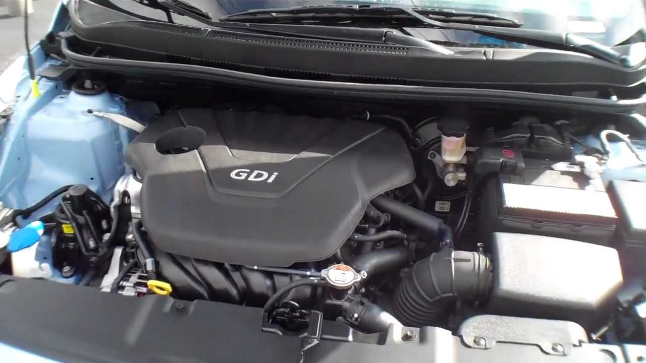 2013 hyundai accent under the hood 1 6 gdi youtube. Black Bedroom Furniture Sets. Home Design Ideas