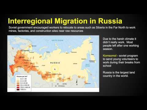 Chapter 3 Key Issue 4 Migration Ap Human Geography