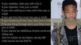 Jaden Smith -MSFTS Anthem lyrics