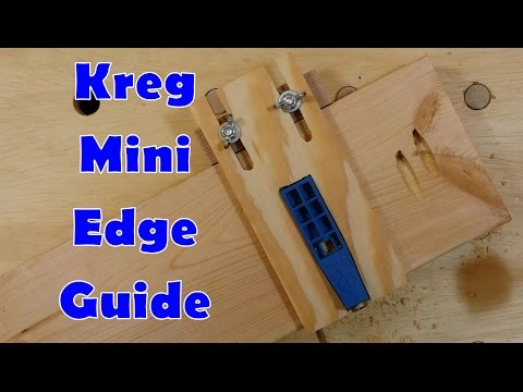 Edge Guide for Kreg Mini Pocket Hole Jig
