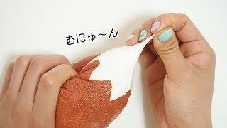 【DIY】手作りスクイーズ!効果抜群のもっちりむにむに 低反発スクイーズ♡【こうじょうちょー】