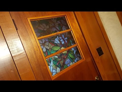 How to Apply Faux Stained Glass