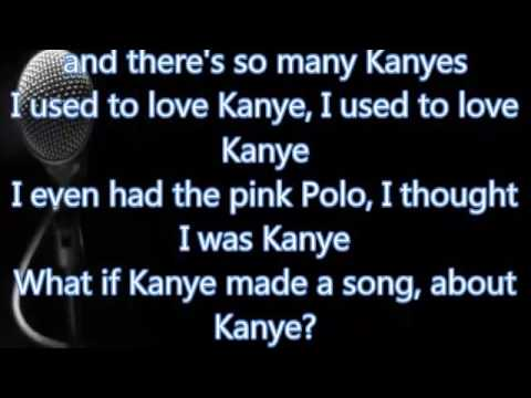 Kanye West - I Love Kanye (Lyrics)