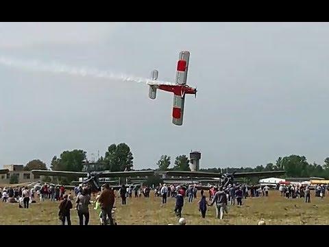 Самолет Ан-2 разбился на авиашоу в Подмосковье, есть погибшие