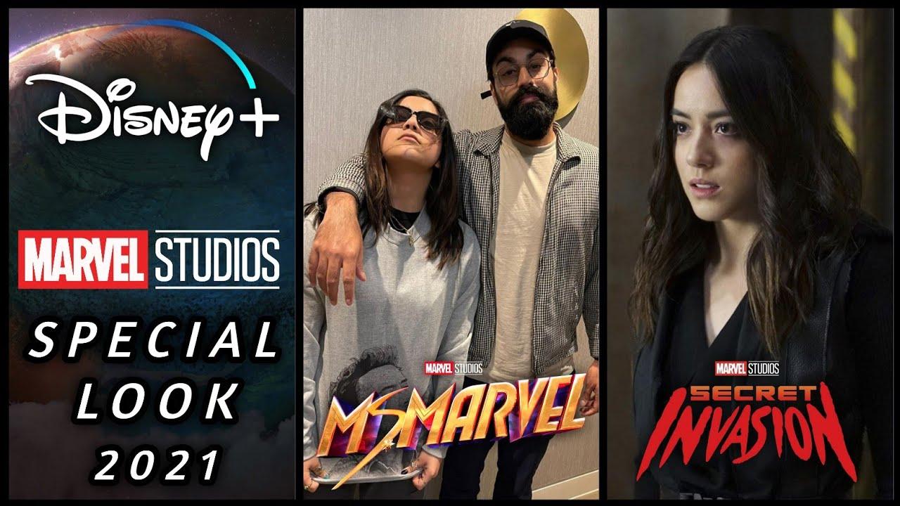 Marvel Special Look 2021 Confirmed | Ms Marvel Release Year | Chloe Bennet Hogi Secret Invasion Mai?