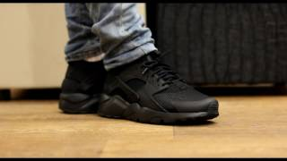"ONFEET | Nike Air Huarache Run Ultra ""Triple Black"""