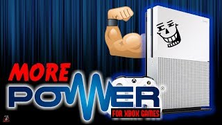 HUGE Power Boost For Xbox One & Xbox One X UWP Games! - Xbox News